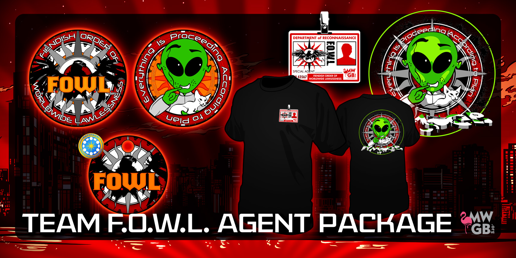 FOWL Agents Collector Set